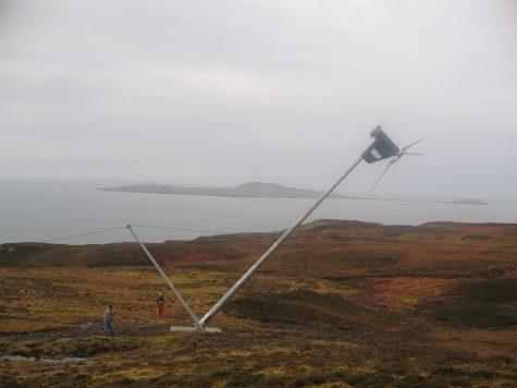 Tiny scottish island winning the renewables race