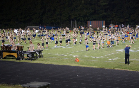 Marching Band adds new halftime show