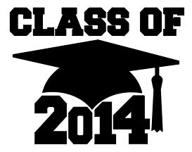 The class of 2014 is excited to move onto college in the fall