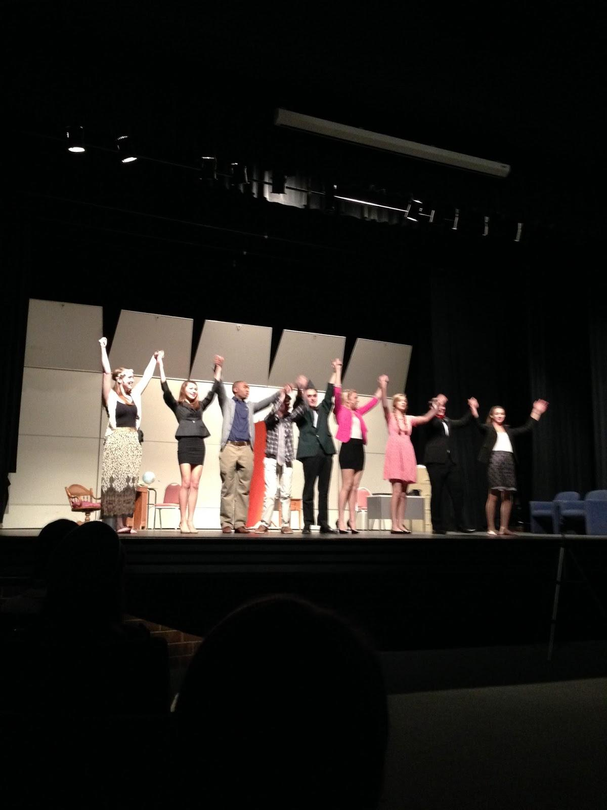 Athens Drive Theater Department earned 800 dollars through the One Act Plays to put towards