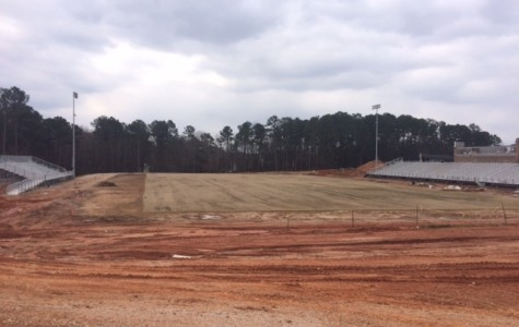 New Athens Drive Stadium Construction Ongoing