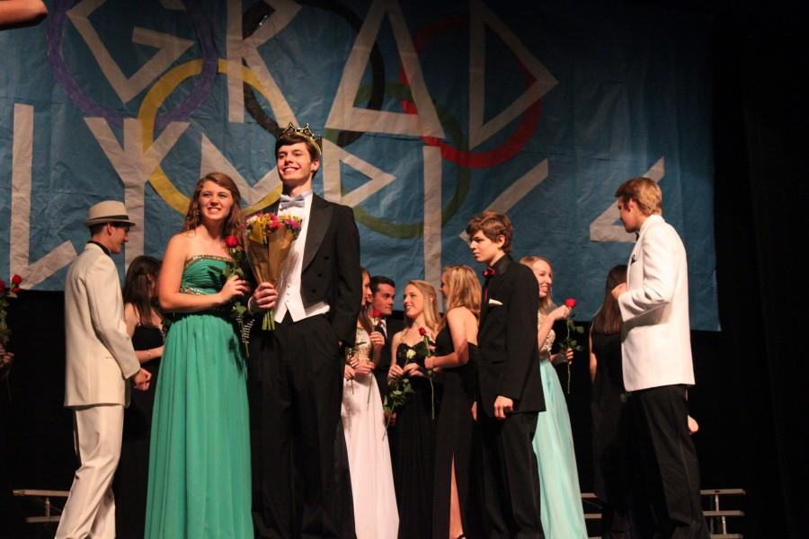 Worth Lineberry crowned Gradman at this year's senior Gradman show. Twelve senior boys and ten senior girls spent the past three months preparing for the talent show which raised over $4,000 for the Make-A-Wish Foundation.