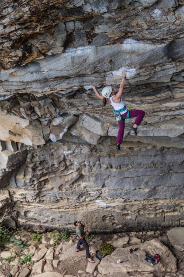 Athens rock climber reaches new heights