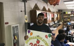 Shane Barry awarded Athens Drive 2017-2018 Teacher of the Year