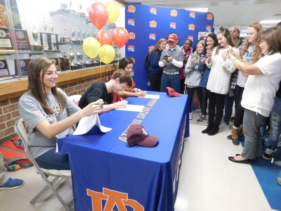Athens Student Athletes sign Letters of Intent