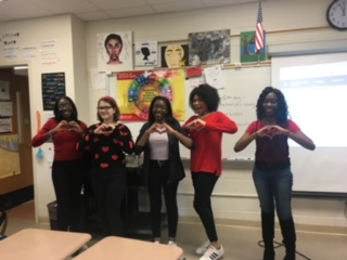 Chorus students uphold Singing Valentines tradition