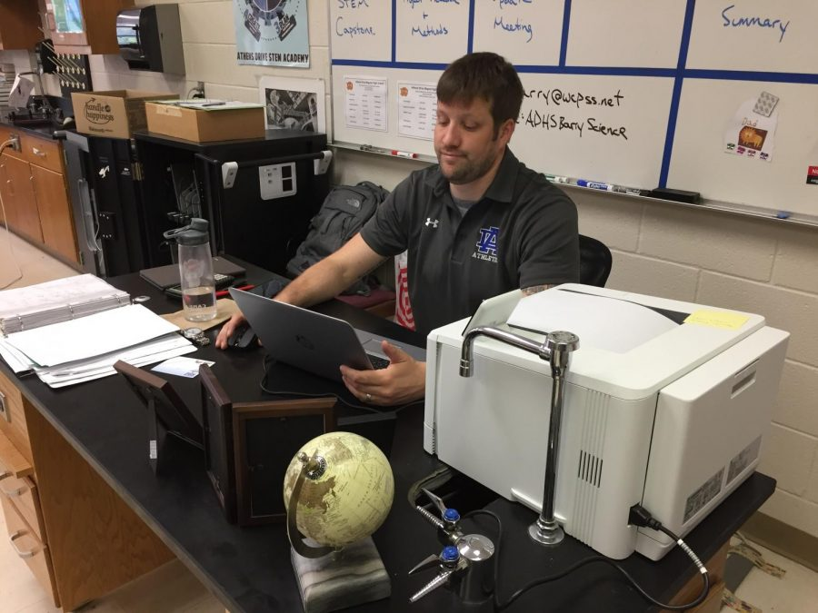 Barry Semifinalist for Teacher of the Year