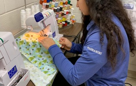 Athens' FCCLA is Donating handmade Port Pillows to WakeMed