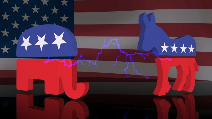 The+2020+election+between+the+Republican+candidate+Donald+Trump+and+the+Democratic+candidate+Joe+Biden+has+created+polarized+views+between+voters.