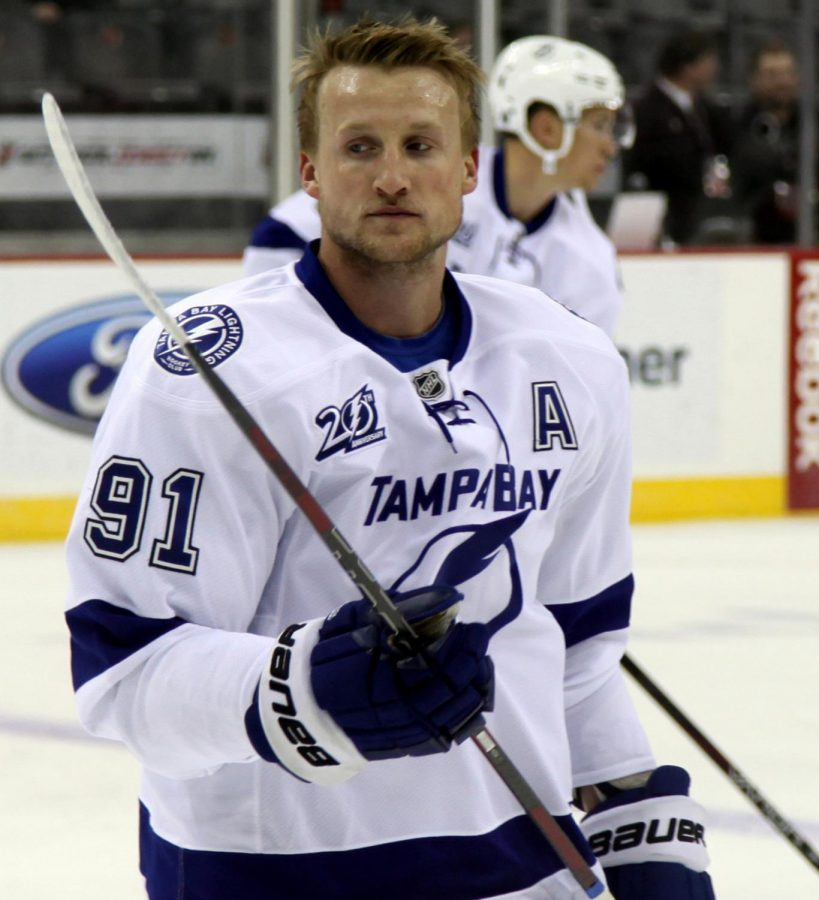 Steven Stamkos, captain, powered the Lightning through his leadership while he was unable to play.