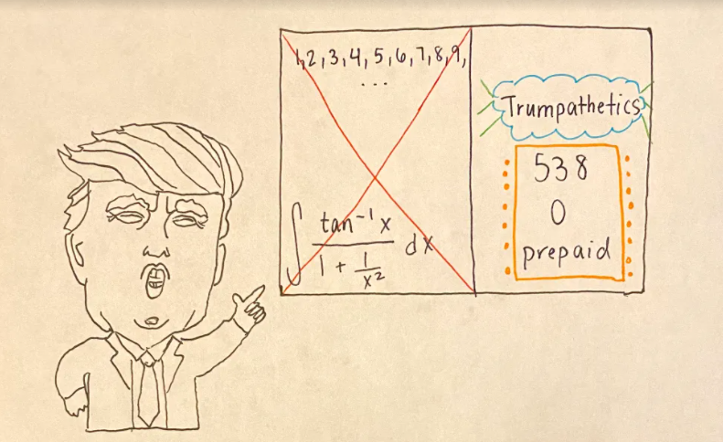 Trump announces mathematics to be a hoax, claims to swear by 'Trumpematics'
