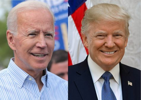Joe Biden and Donald Trump are the two oldest major party presidential candidates in history.