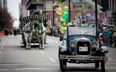 The first St. Patrick's day parade was held in 1601 in the Spanish colony that is now St. Augustine, Florida.