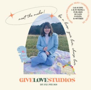 By starting GiveLoveStudios, senior Lizzie Edwards finds that she threw herself into the real world and matured along the way. Throughout the process, she has also gained support from her friends and family in Raleigh, N.C. as well as her online community of small business friends.