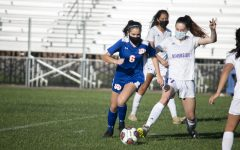 Athens Drive Women's Soccer Defeats Riverside 1-0 in Jaguar Stadium.