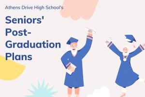 Seniors' Post Graduation Destinations Intro Slide.