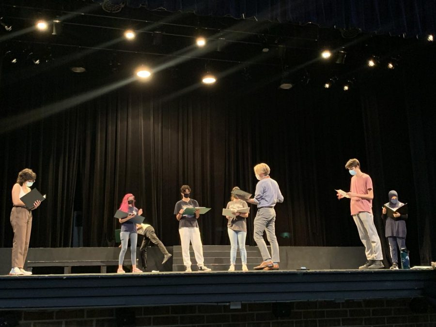 Following the fall play: Antigone
