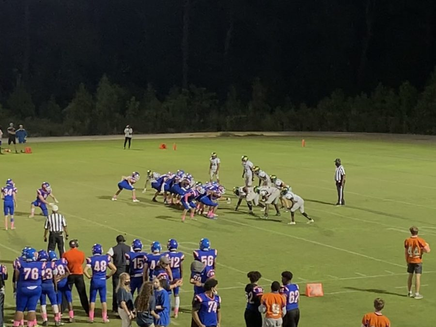 Athens Drive attempts a field goal during the Homecoming game with Enloe High School Oct. 8.
